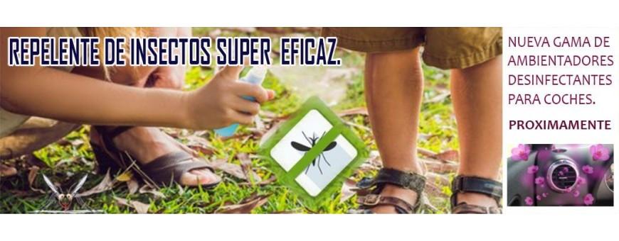 Repelente de mosquito muy eficaz