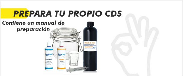 Prepara tu propio Dióxido de cloro